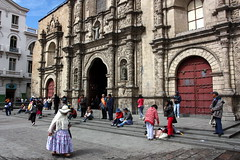 La Paz (mbphillips) Tags: basilicaofsanfrancisco sanfranciscochurch church sigma1835mmf18dchsm mbphillips canon450d 玻利维亚 南美洲 볼리비아 남아메리카 ボリビア 南アメリカ sudamérica américadelsur 玻利維亞 southamerica geotagged photojournalism photojournalist christian christianity capital 首都 수도 lapaz 라파즈 travel bolivie bolivien bolivia