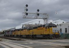 EOZOZ Heads Home (imartin92) Tags: emeryville california unionpacific railroad railway freight train ssw stlouissouthwestern southernpacific emd gp60 gp402 locomotive
