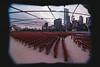 Millennium Park Concert Seats (Jovan Jimenez) Tags: eos t2 tokina 1116mm fuji superia 1600 f28 atx 116 slr 300x fujifilm fujicolor lines chicago millennium park concert seats fullframe canon plustek opticfilm 8200i film apsc