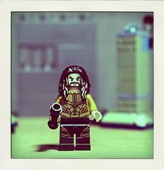 Aqua Man (N.the.Kudzu) Tags: tabletop lego miniature aquaman canondslr canonefslens flash macro dxoopticspro11 poladroid