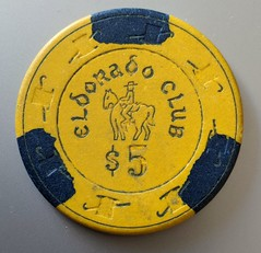 Eldorado Club (jmaxtours) Tags: 5chip eldoradoclub las lasvegas lasvegasnevada chip fremontstreet eldoradoclublasvegas 5