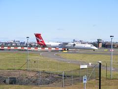 Sydney Airport Activity (TimBo's pics) Tags: qantas q300 q400 qantaslink bombardier dash8 jetstar emirates vietnamairlines fijiairlines xiamenairlines britishairways rex regionalexpress a320 a330 airbus airbusa330 airbusa380 boeing boeing737700 saab a321 sydneyairport kingsfordsmithinternationalairport shepsmound