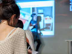 Arts Week 2018 (Birkbeck Media Services / Dominic Mifsud) Tags: beecomposedlivehoneybeecommunication schoolofarts birkbeckuniversityoflondon artsweek2018 lilyhuntergreen hivemind birkbeckartistinresidence beepopulation london uk gb