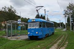 2014-09-13, Zagreb, Dolje (Fototak) Tags: tram strassenbahn zagreb croatia tatra t4 zet ligne15 423