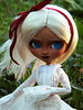Marianna (somehowcameout) Tags: techniques toys wip work wig eyes eyelashes repaint renovation roses yarn up custom pullip jun sun customdoll ooak ooakdoll own obitsu somehowcameout doll freckles