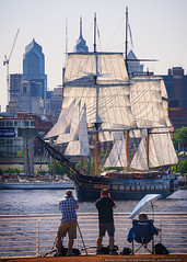 SSV Oliver Hazard Perry (mhoffman1) Tags: 3masted camden camdenwaterfront classa delawareriver pennslanding philadelphia philly ssvoliverhazardperry sonyalpha tallships a7riii boat photographers sails ships