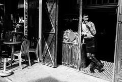 Rabat (Jordan Barab) Tags: rabat morocco street streetphotography blackandwhite bw sonydscrx100markiii smoking