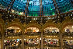 Galeries Lafayette 3 (chriswalts) Tags: paris travel france march galeries lafayette galerieslafayette