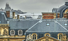 Sacre-Coeur (albyn.davis) Tags: paris france europe travel museum chimneys cathedral louvre rooftops hdr shapes angles geometry
