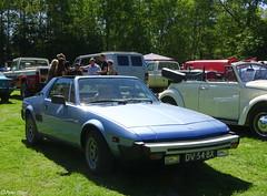 1979 Fiat X1/9 (peterolthof) Tags: peterolthof klazienaveen oldtimerdag 652018 dv54bx