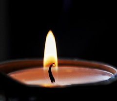 Relight my fire!😊 (LeanneHall3 :-)) Tags: candle flame fire wax red yellow macro macrophotography closeup closeupphotography canon 1300d