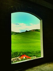 🌾Window in the hills 🌾 (MaryW.) Tags: tuscany 🌿 profumo colori colline toscane alternative sunday finestra primavera spring nature