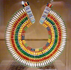Ancient Egyptian Necklace (Stanley Zimny (Thank You for 32 Million views)) Tags: met art egyptian necklace color ny newyork museum