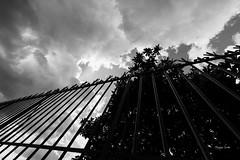 La grille (Jacques Isner) Tags: grille cloud ciel vallonpontdarc ardèche pentax pentaxart pentaxflickraward pentaxk1 samyang14mm samyang jacquesisner