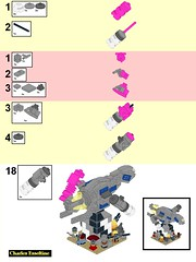 Crazy Ivan page 13 (origamiguy1971) Tags: firefly mal malcom reynolds zoe hoban wash book jayne simon river inara kaylee crazy ivan lego microscale spaceship moc model