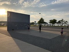 Sun lines (fermattei) Tags: sun volley ball sunset new york oyster bay long island fernando mattei family kids children happiness happy game girl play playing