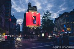 Chinatown ([nixon]) Tags: iphone apple bigapple nyc chinatown newyork ricohgr gr ricoh street lights cloud blue red buildings cars newyorkcity manhatton