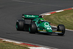 Tyrrell 012 (2) ({House} Photography) Tags: fia masters historic formula one championship f1 msvr car automotive brands hatch uk kent fawkham race racing motor sport motorsport canon 70d housephotogaphy timothyhouse sigma 150600 contemporary tyrrell 012 benetton