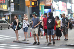 People at Broadway and 49th Street. (kevinrubin) Tags: newyorkcity street streetphotography nyc newyork unitedstates us