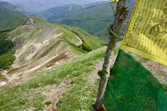 IMG_6223 (Marcia dei Tori) Tags: 2018 montespigolino italy skyrun marciadeitori mdt2018 caicarpi appennino appenninomodenese januacoeli paololottini running mountain italia emiliaromagna run sky flag tibetanflag