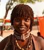 Hamar Woman (Rod Waddington) Tags: africa african afrique afrika äthiopien ethiopia ethiopian ethnic etiopia ethnicity ethiopie etiopian omo omovalley outdoor omoriver outdoors hamer hamar traditional tribe tribal turmi market beads culture cultural woman