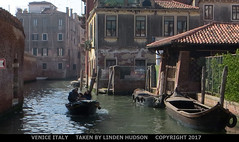 VENICE (lindenhud1) Tags: venice italy different rustic older canal water buildings oldboats picturesque interesting oldworld visual art artlike appealing scenic scenery europe italia venezia visualart simple basic boat people photography