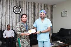 Mohak 150 Surgeries in a month pic 4 (IndiaObesity) Tags: mohakbariatricsandrobotics achievement bariatricsurgery topbariatriccenter