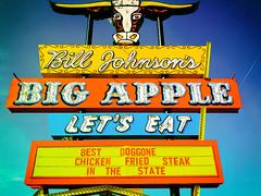 Best Doggone Chicken Fried Steak in the State (Thomas Hawk) Tags: america arizona bigapple billjohnsons billjohnsonsbigapple phoenix usa unitedstates unitedstatesofamerica bull neon restaurant tempe us fav10 fav25