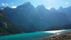 #A95 What a beautiful day!! (briolette001) Tags: morainelake canadianrockymountain mountains rockymountains canadarockymountains glacierlake alberta albertacanada banffnationalpark