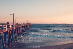Rainbow Sunset - Port Hueneme Oxnard, CA (jc.deluna@rocketmail.com) Tags: sunset rainbow creative grain ocean freeview beautiful