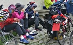taiwanese visit (marcostetter) Tags: roadtrip reise travel urban rothenburg street people