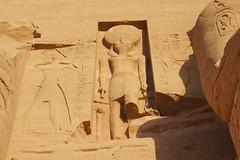 Dios Horus (Kaledor Photos) Tags: egipto africa egipt abusimbel templo temple ramsesii dios god horus