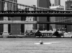 East River, Manhattan Island Cruise 2011 (bobbex) Tags: bigapple newyork nyc newyorkbw ny usa bw blackwhite