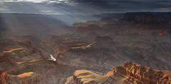 Canyon Light (David Shield Photography) Tags: getyourselfoutthere artstudioprints joinus gicleeprints landscape grandcanyon nationalpark arizona sunset panorama coloradoriver color light nikon lipanpoint davidshieldphotography
