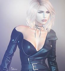 Arwen Rage ❤️ (S*H*A*Y Strat) Tags: second life firestorm viewer virtual game avatar mesh profile arwen blond leather