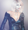 Arwen Rage ❤️ (Shaia Strat) Tags: second life firestorm viewer virtual game avatar mesh profile arwen blond leather