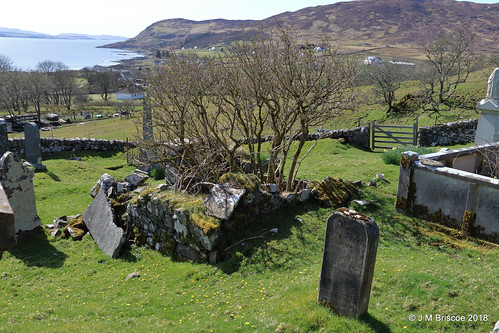 Burial Ground, St. Comghan's Church (Old Parish Church), Kilchoan