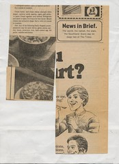 scan0109 (Eudaemonius) Tags: ls0028 the queens silver jubilee 19521977 souvenir cuttings book collection raw 20180722 eudaemonius clippings recipes newspaper recipe cooking cookbook cook estate sale find bluemarblebounty