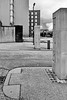 edward street park entrance pillars (Harry Halibut) Tags: 2018©andrewpettigrew allrightsreserved contrastbysoftwarelaziness noiretblanc blackwhite blancoynegro blanc weiss noire schwatz bw zwart wit bianco nero branco preto blackandwhite imagesofsheffield images sheffieldarchitecture sheffieldbuildings sheffield south yorkshire publicartinsheffield public art sheff1802215860 century square student acommodation edward street park pillars bollards gates streetart