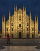 Duomo And I (JH Images.co.uk) Tags: duomo church cathedral milan italy night bluehour twilight portrait self hsr dri milano architecture