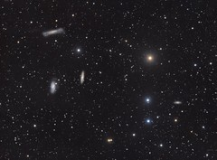 The Leo Triplet and friends (Andrew Klinger) Tags: