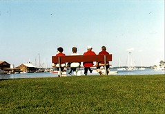 St. Michaels, Maryland. September 1986. (brunofish) Tags: c copyrighted material brian fish aka brunosih cbrunofish