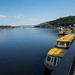 Rio Dnieper, em Kiev