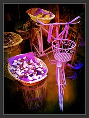 Lavender Bicycle (Cycling Man) Tags: object colour stilllife cycle