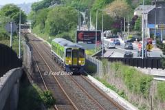 Irish Rail 2607 + 2608 at Tivoli. (Fred Dean Jnr) Tags: iarnrodeireann april2011 2600class irishrail 2607 2608 tivoli cork tokyu dmu dieselmultipleunit