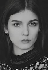 Maria (Valentyn Kolesnyk (ValeKo)) Tags: pentax people portrait mood monohrome meyer trioplan light look 105cm k3