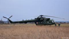 Polish Air Force Mil Mi-17 603 (Szymon Simon Karkowski) Tags: outdoor air force mil mi 17 603 helicopter review exercises landing troops silesia voivodeship gliwice poland nikon d7100