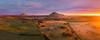 Mt Kooroocheang (Mark McLeod 80) Tags: australia autumn ballarat kingston markmcleod markmcleodphotography vic farm rural sunrise smeaton victoria mt kooroocheang pano dji phantom4pro