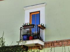 Balcony (phxdailyphotolady) Tags: balcony exterior scottsdale arizona southwestern