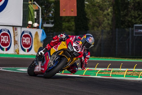 """WSBK Imola 2018 • <a style=""""font-size:0.8em;"""" href=""""http://www.flickr.com/photos/144994865@N06/27498554747/"""" target=""""_blank"""">View on Flickr</a>"""